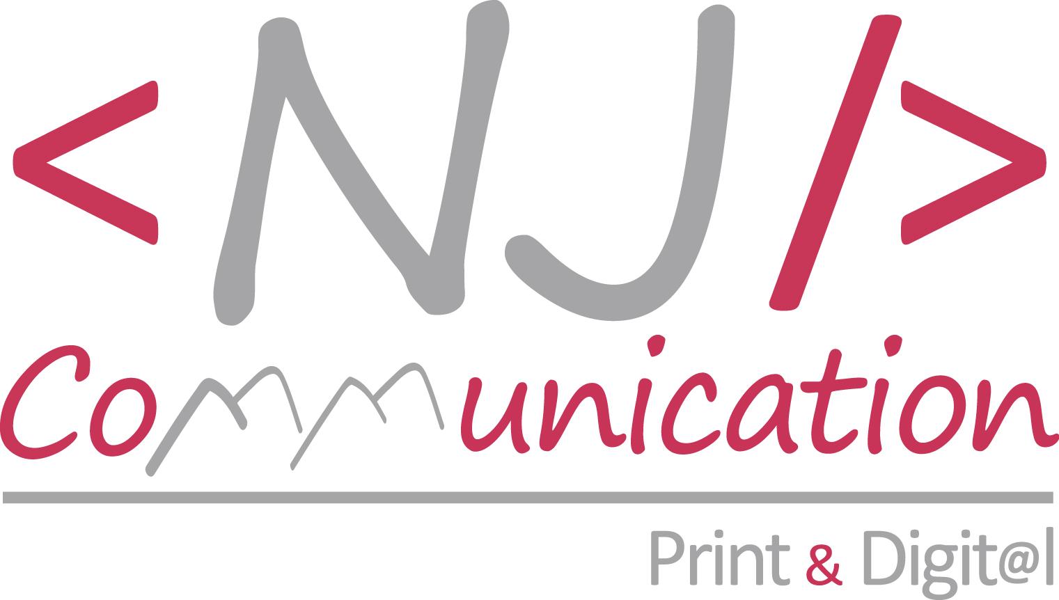 logo NJ Communication carré