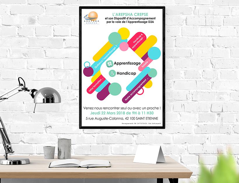 Affiche information collective du service 3A (CREPSE)