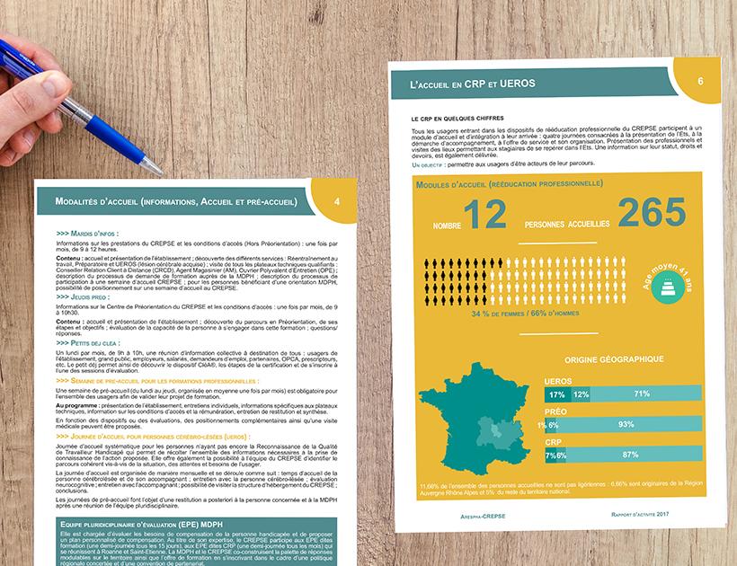 Rapport d'activité CREPSE - page intérieure 2