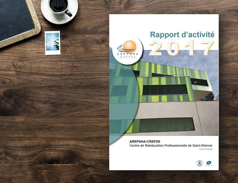 Rapport d'activité CREPSE - couverture