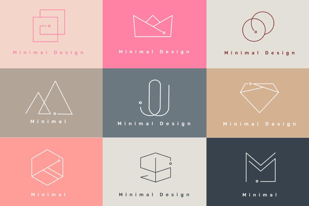 logo minimaliste